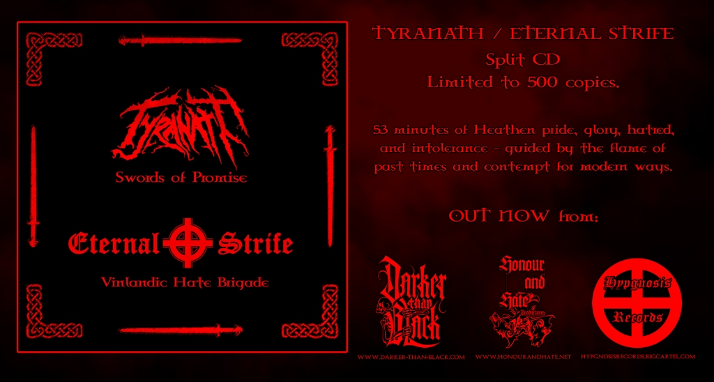 Tyranath Eternal Strife flyer